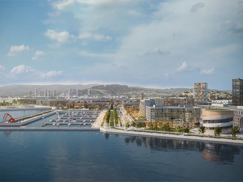 The San Francisco Shipyard