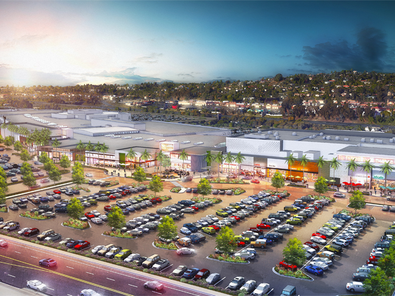 The Shoppes at Carlsbad is undergoing extensive renovations to better fit within its hip beachside community.