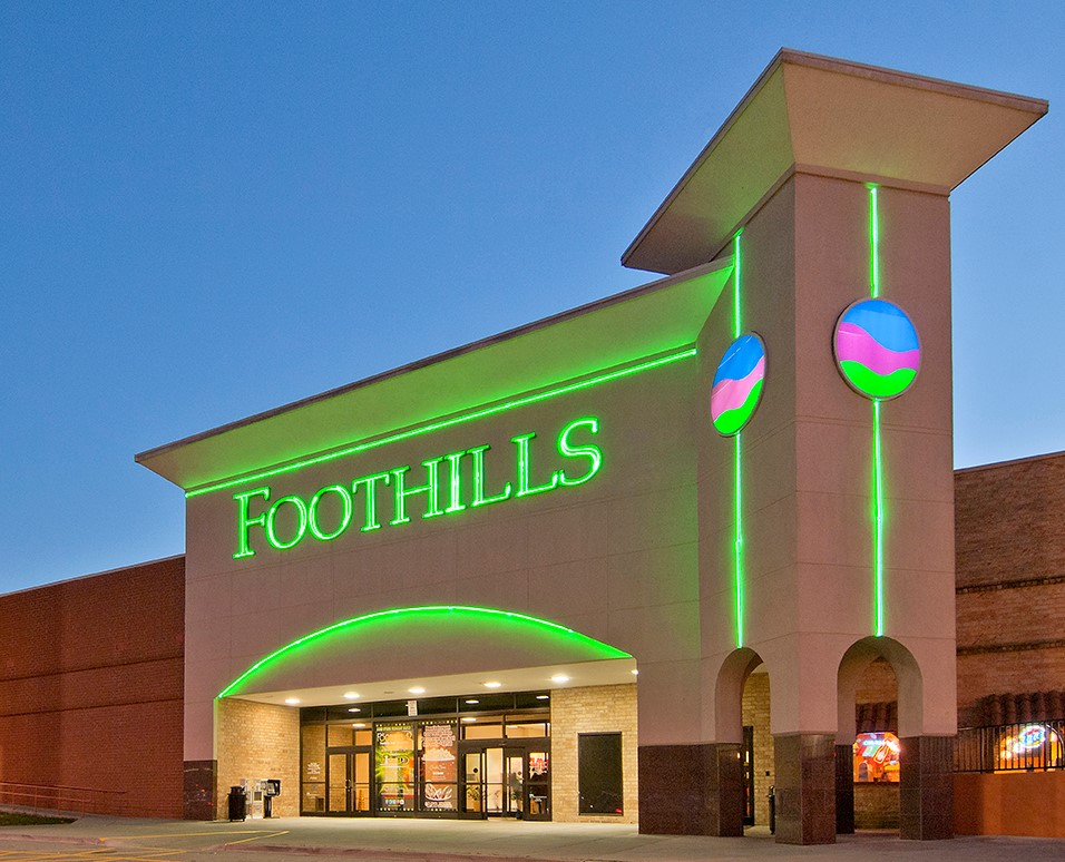 The Foothills Mall in Maryville, Tenn.
