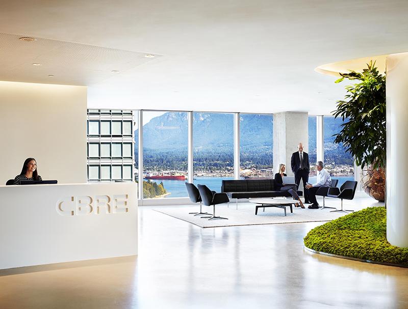 CBRE Vancouver Office