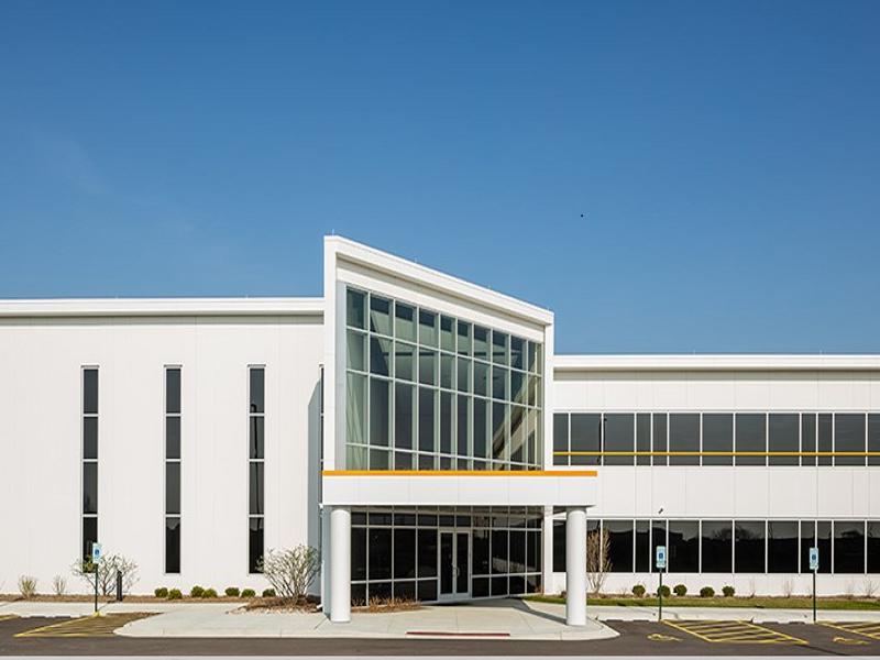 Renishaw Inc. HQ in Oakview Corporate Park, Ill.