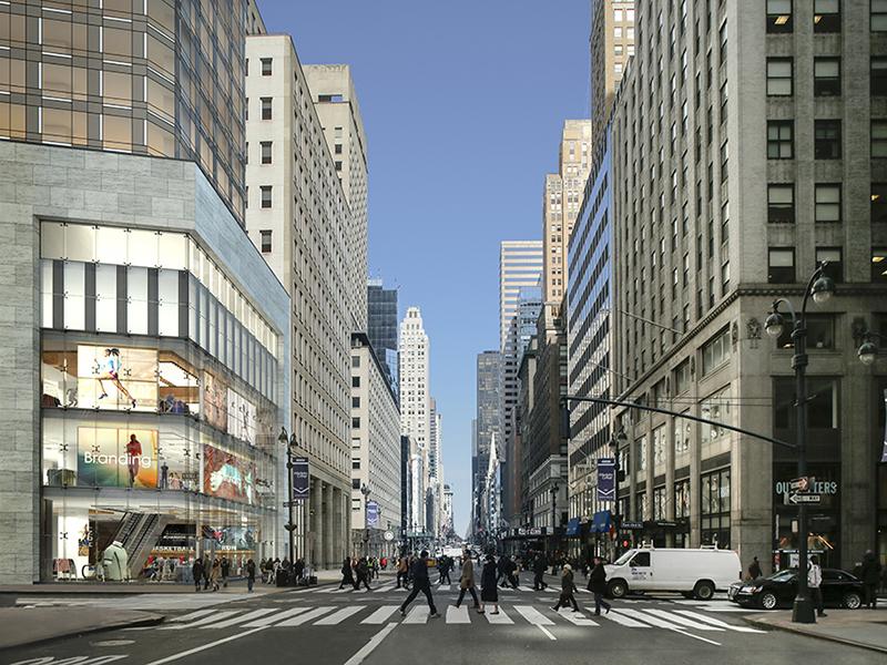 520 Fifth Avenue corner view