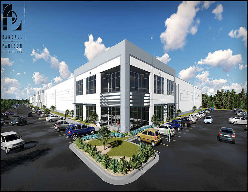 Charleston Logistics Center rendering