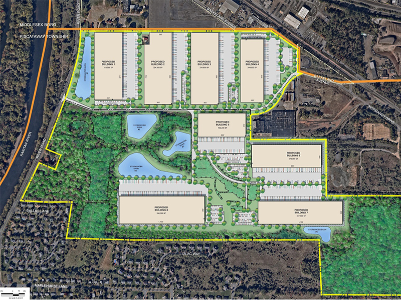 Piscataway Proposed Site Plan