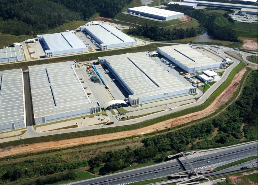 Prologis CCP logistics facility in Cajamar, Sao Paulo State, Brazil
