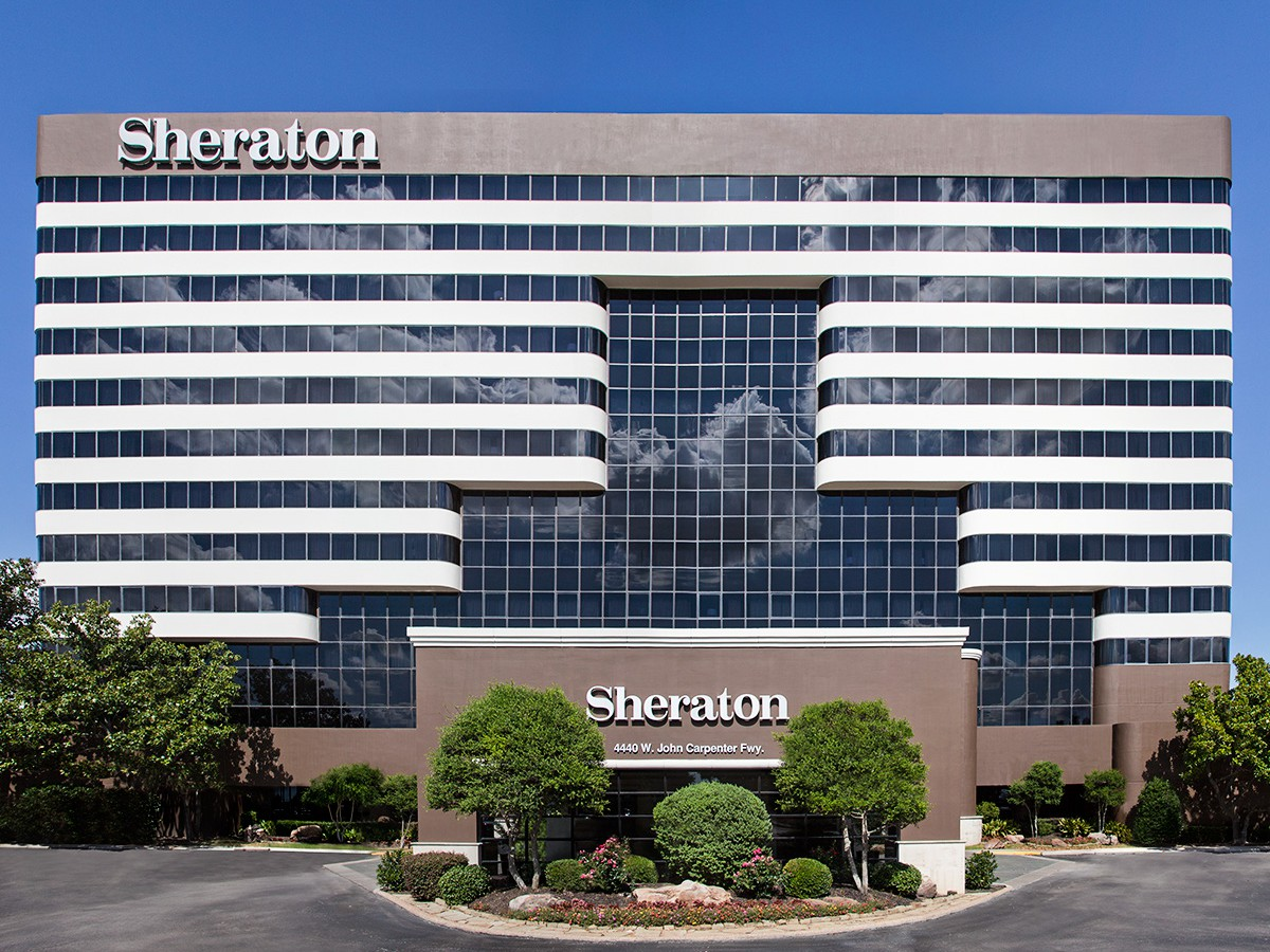 Sheraton DFW Airport Hotel in Irving, Texas