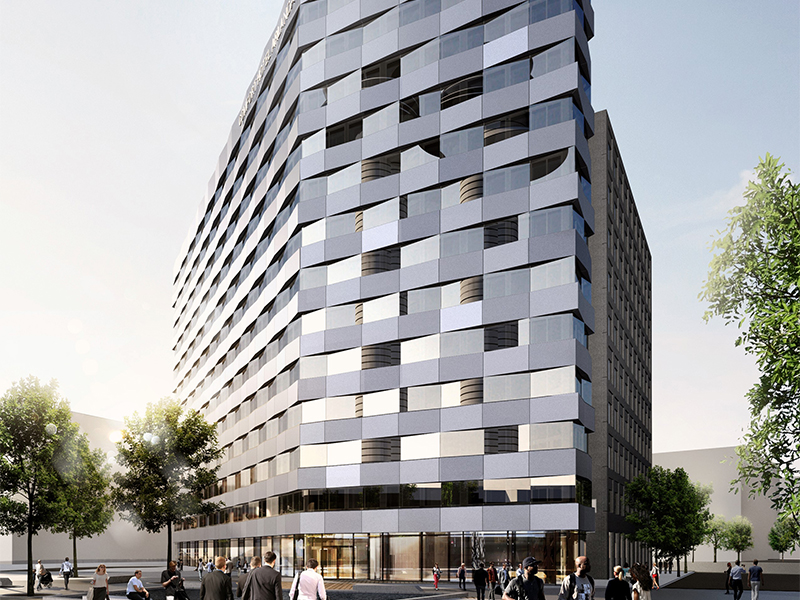 The hotel is expected to be completed by the end of 2019.