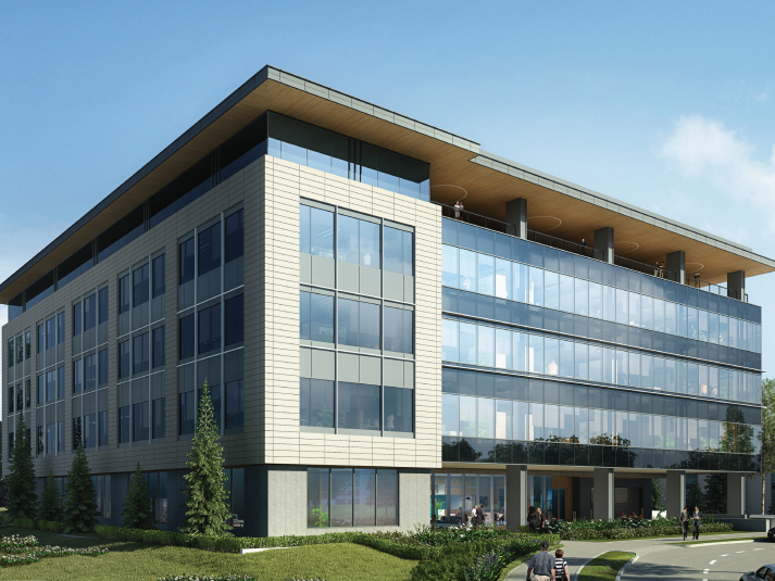 Rendering of The BMG Building
