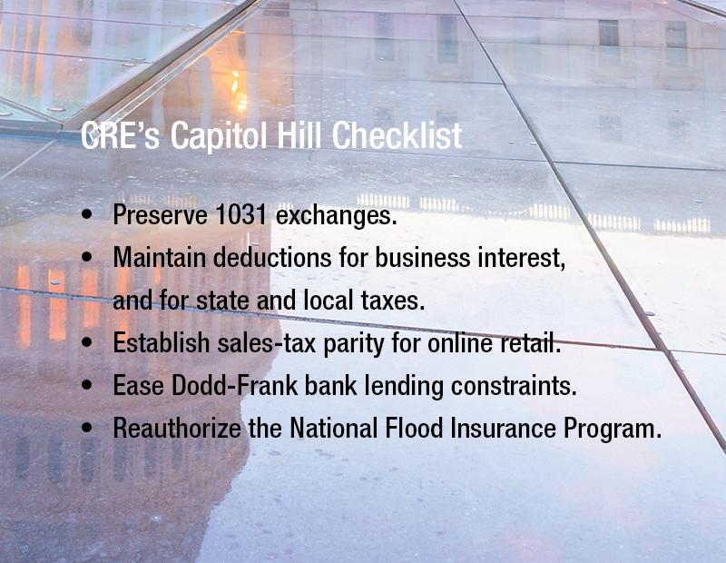 cre;s capitol hill check list