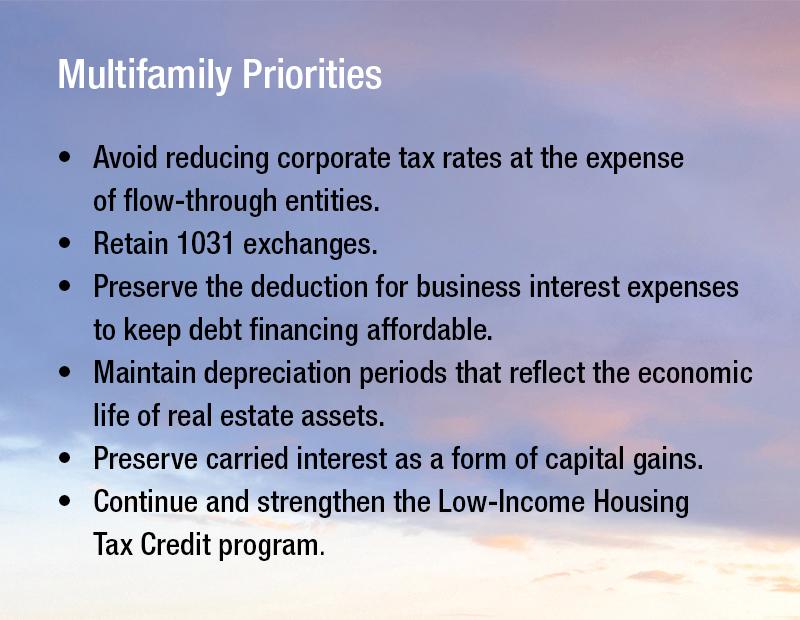 multifamily priorities