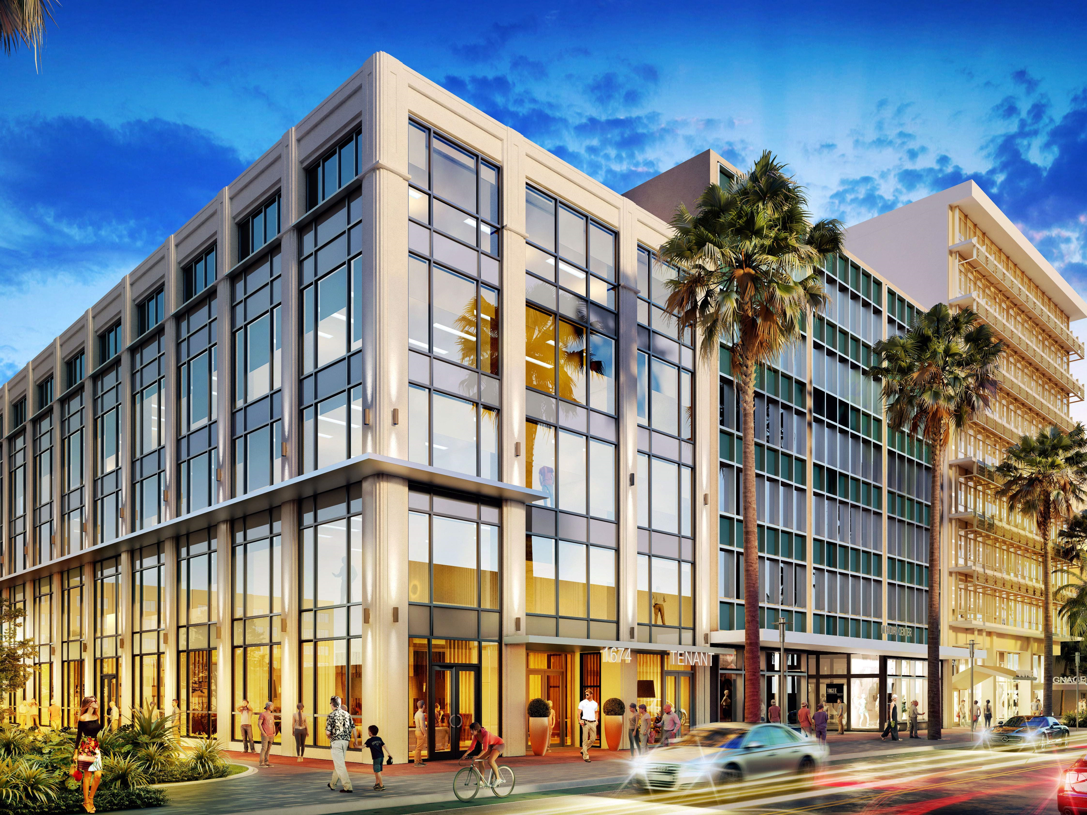 Rendering of 1674 and 1688 Meridian Ave.