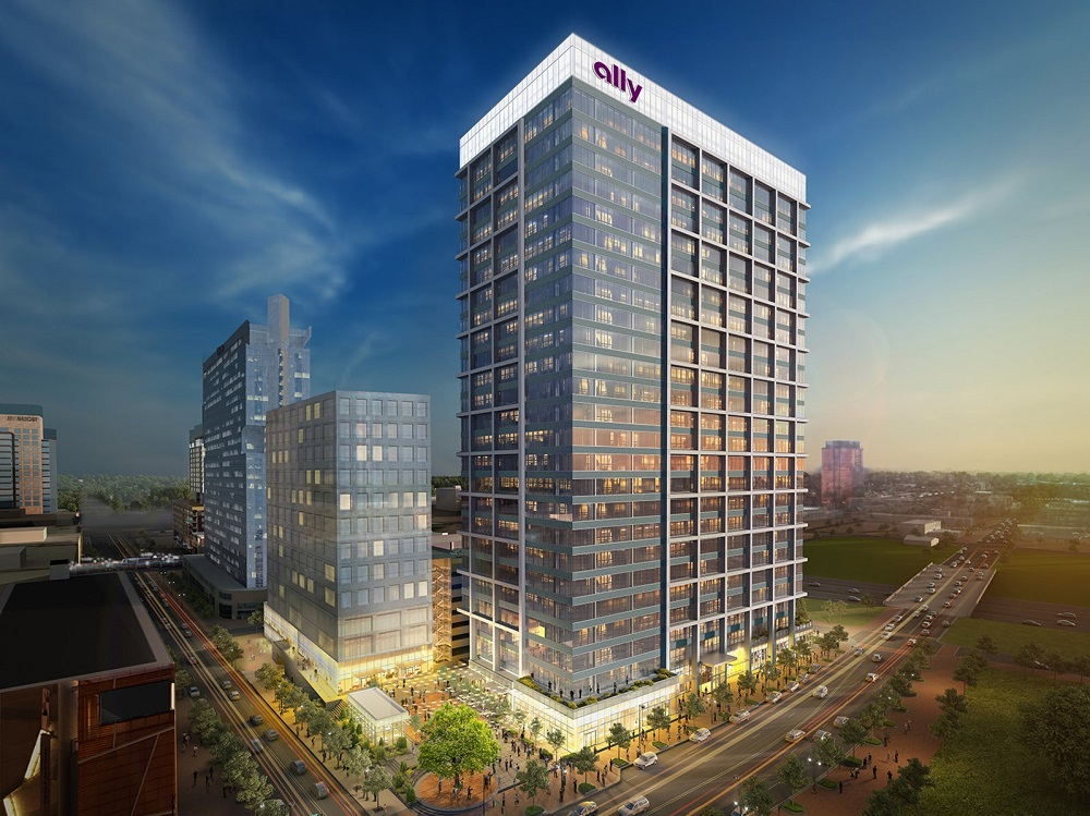 Rendering of the Ally Charlotte Center