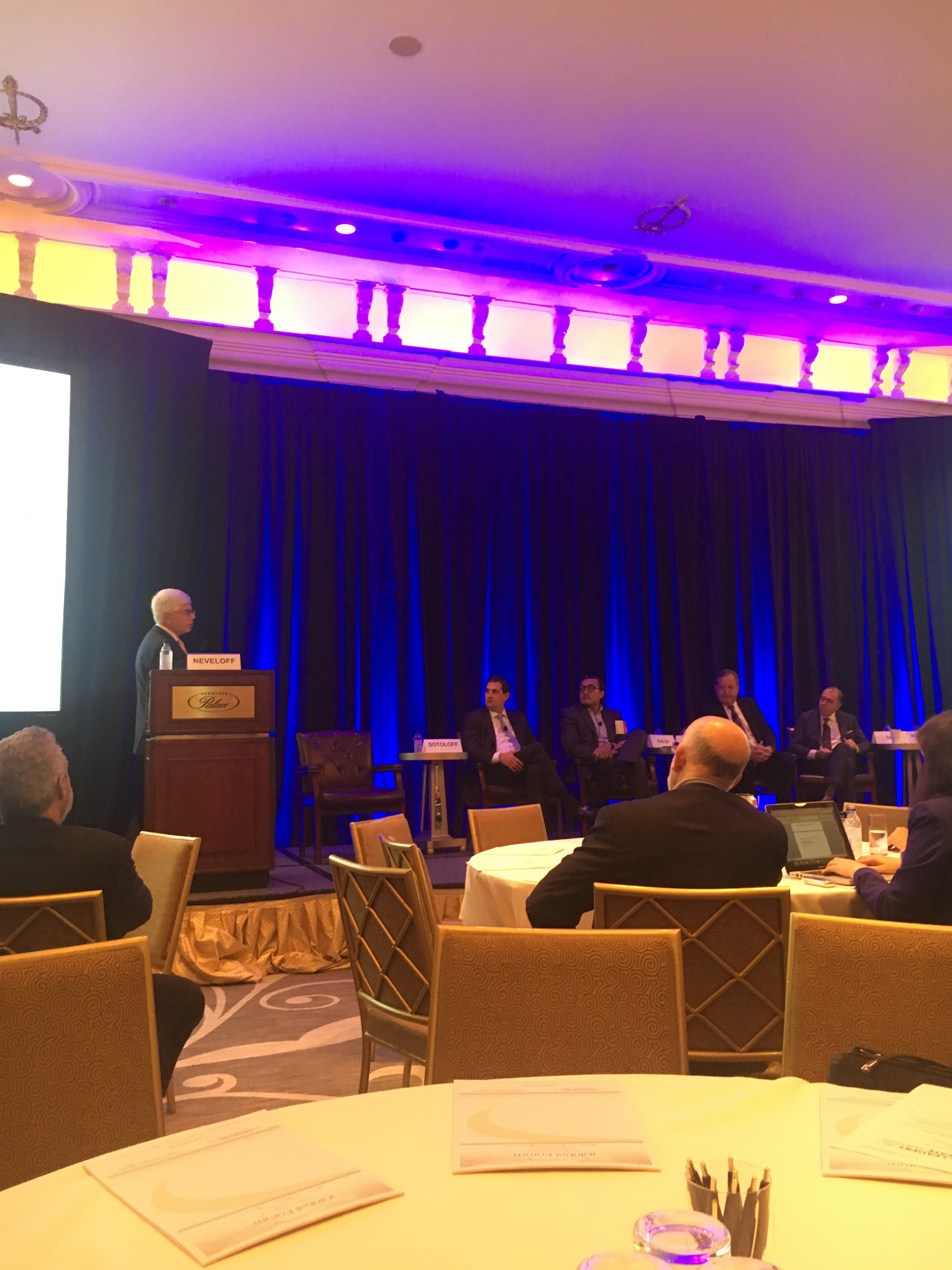 The Changing Face of Real Estate panel at the Global Leaders in Real Estate Summit