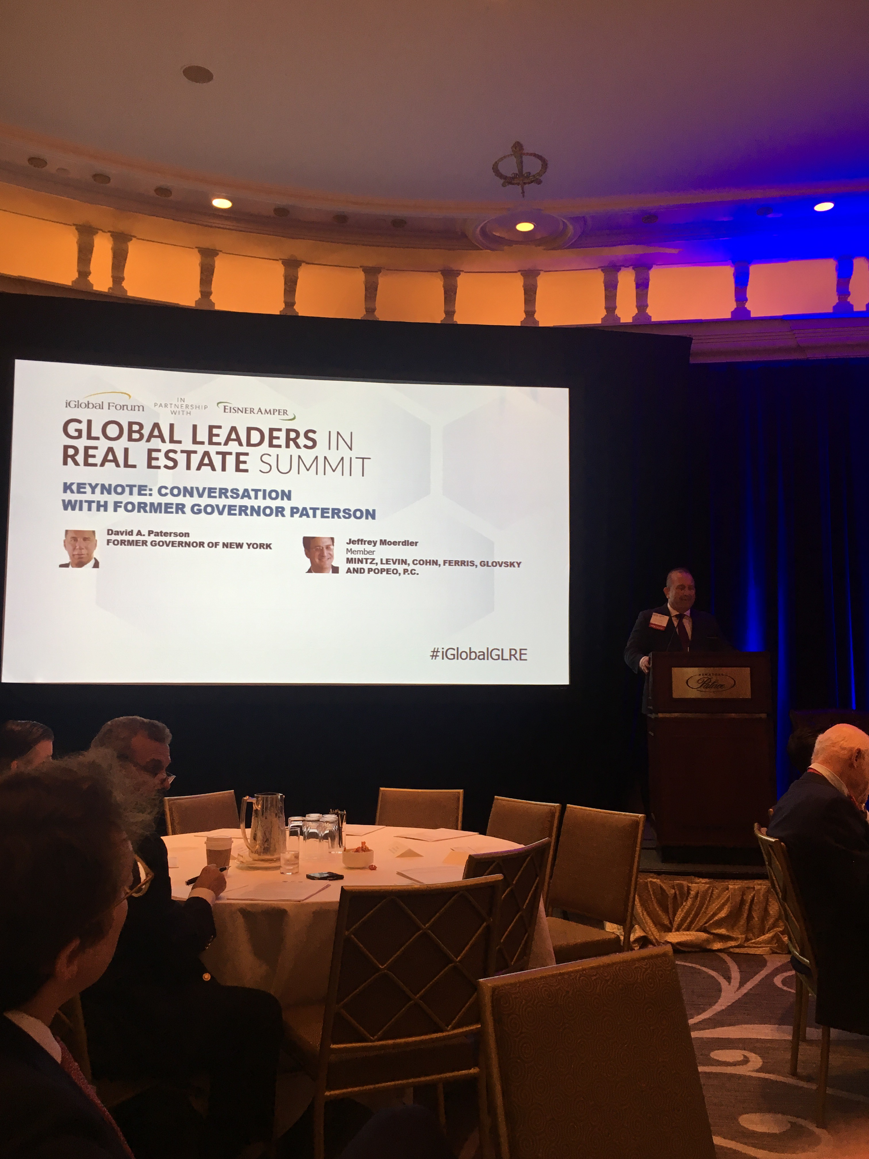 The Masters of the Game panel at the Global Leaders in Real Estate Summit