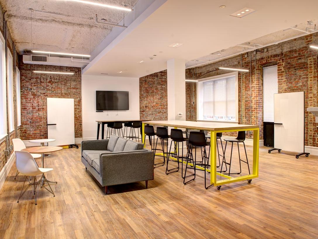 Logan Exchange interior