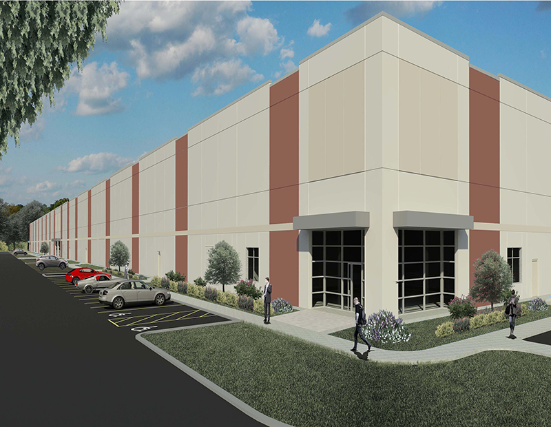 The Campanelli Business Park of Bellingham rendering