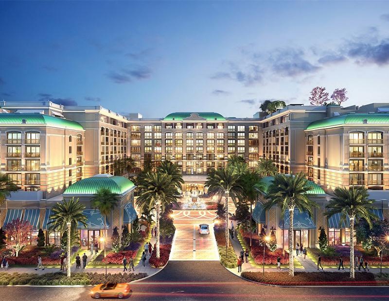 Rendering of Westin Anaheim Resort