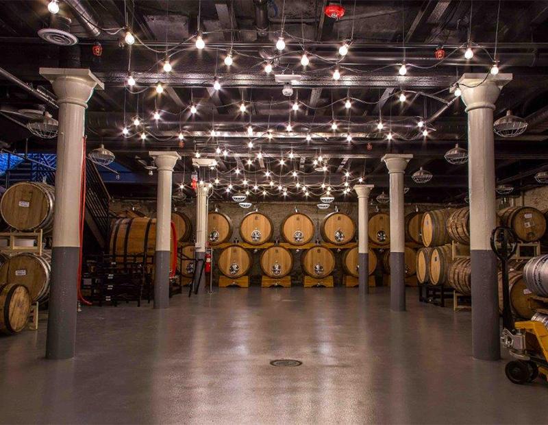 Boston Beer Co. facility in Jamaica Plain, Boston