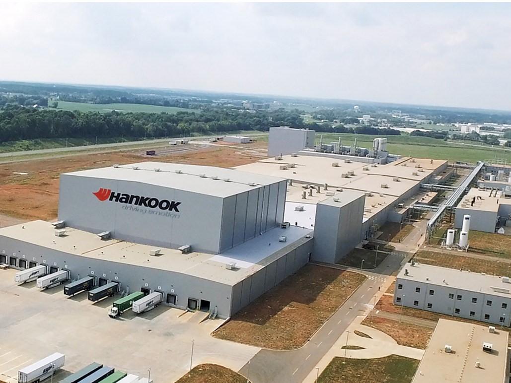 Hankook Tire's plant in Clarksville, Tenn.