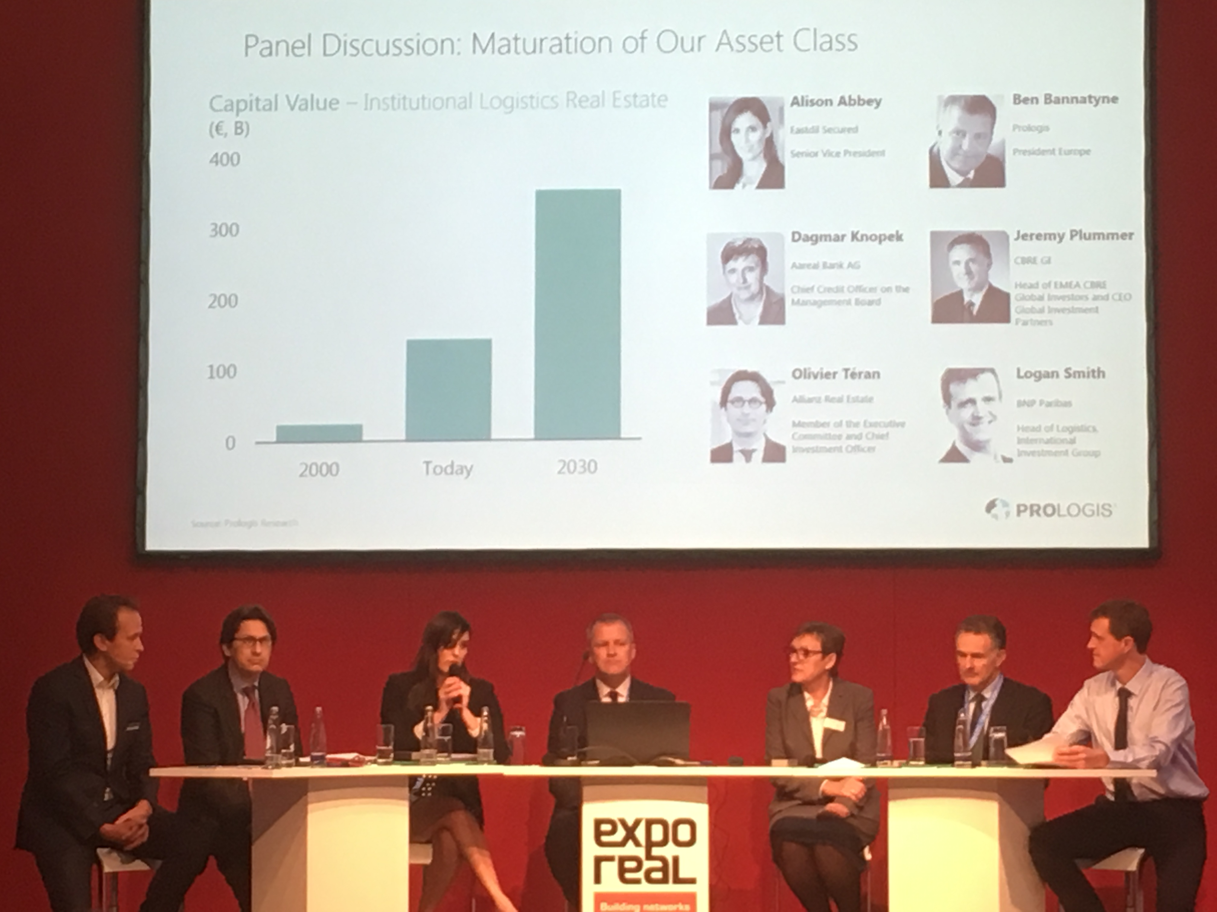 Expo Real 2017 panel: From revolution to evolution: The rise of logistics as an asset class