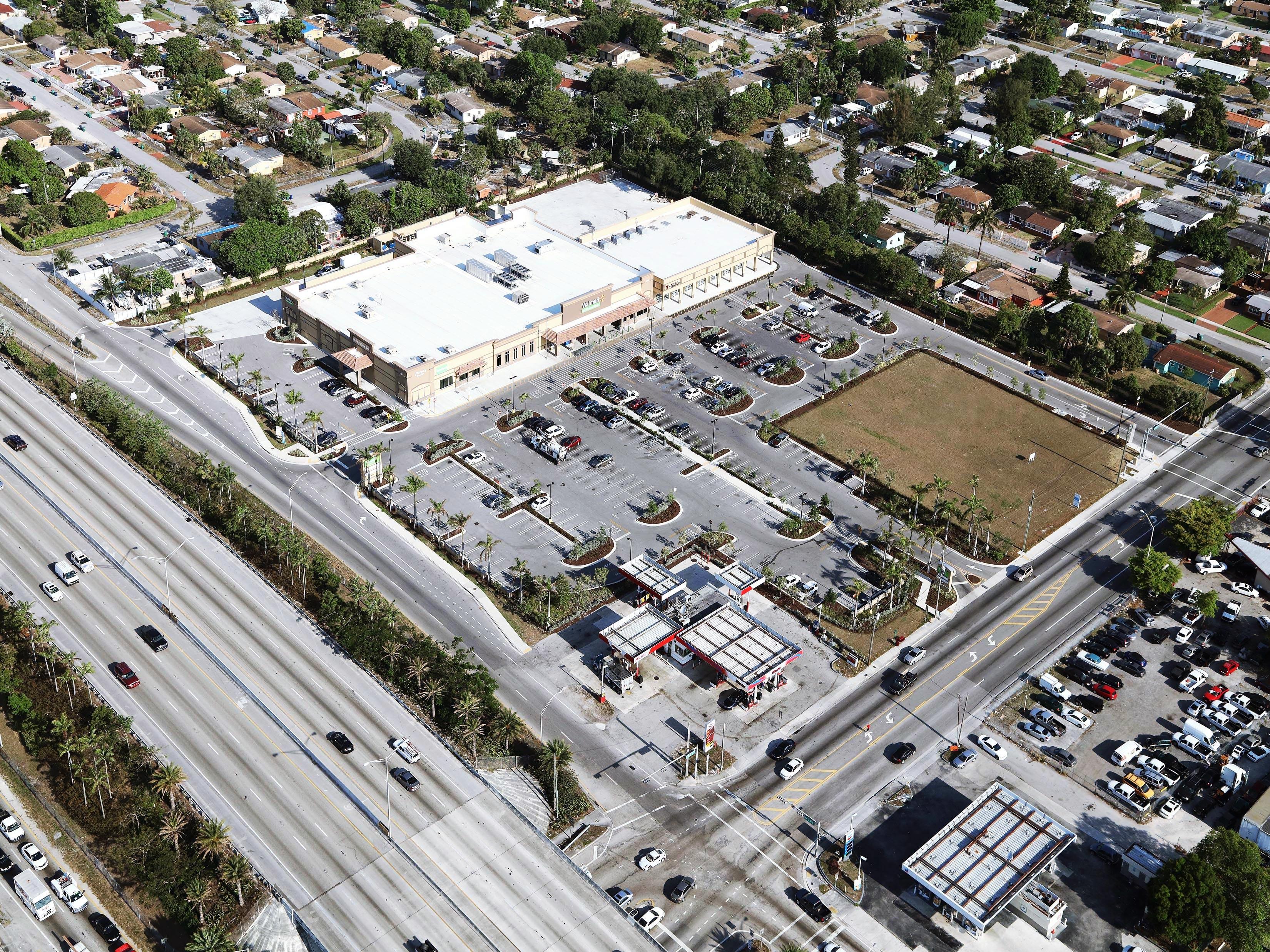 Aerial view of Palmetto Design Center