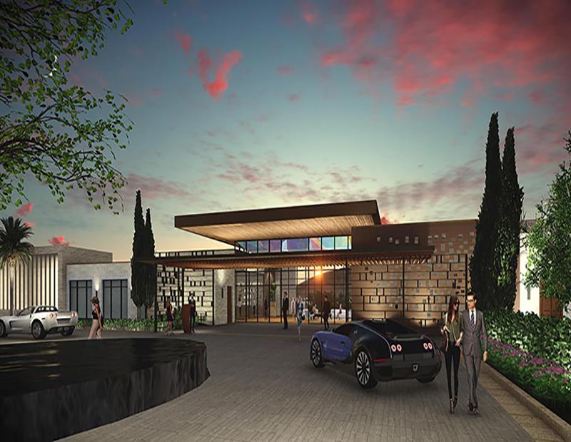 Ritz-Carlton Paradise Valley facade rendering