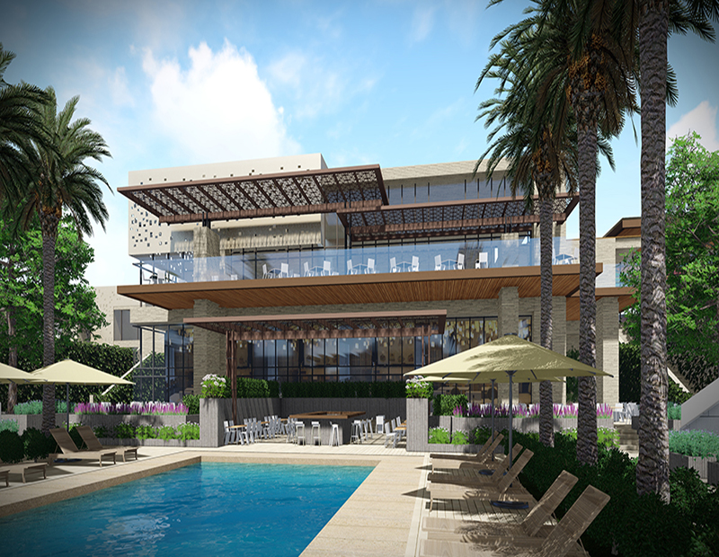 Ritz-Carlton Paradise Valley pool rendering