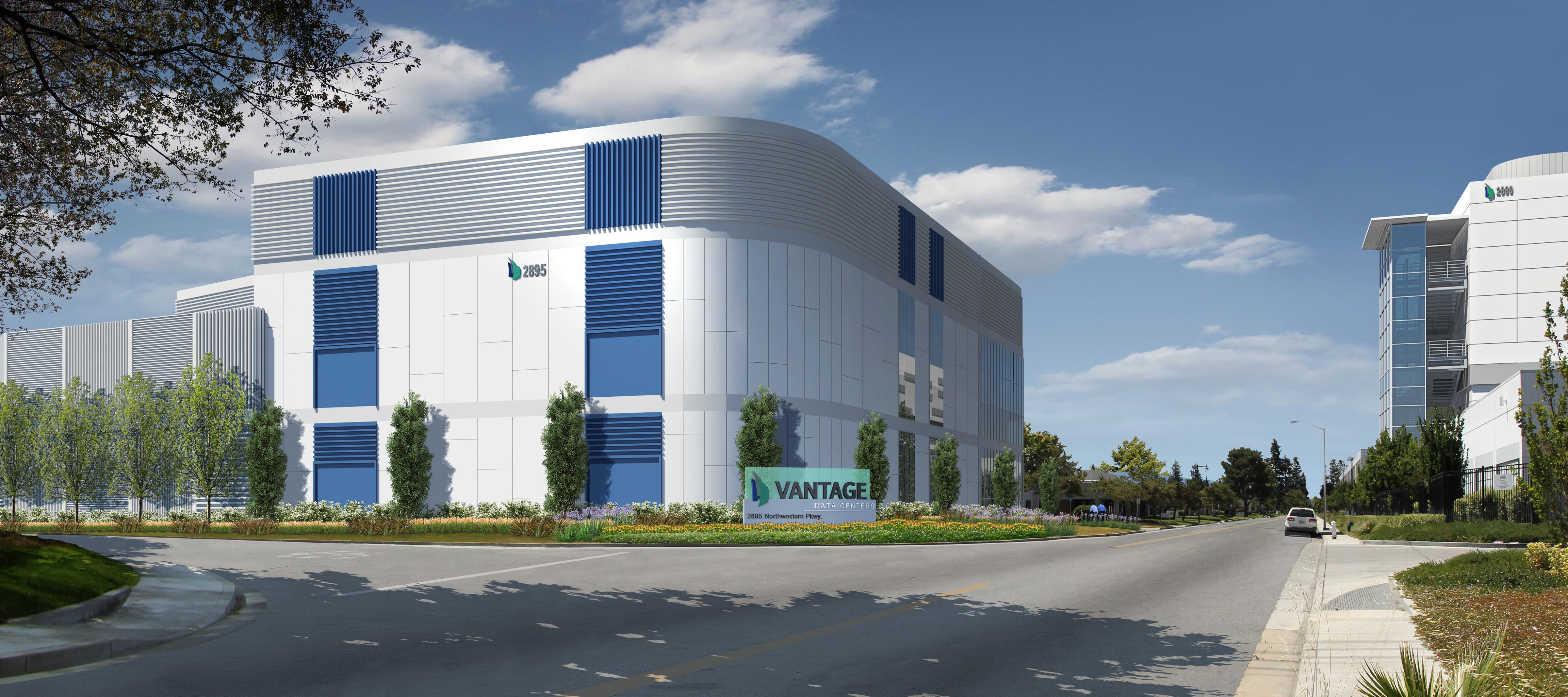 Rendering of Vantage's V6 facility