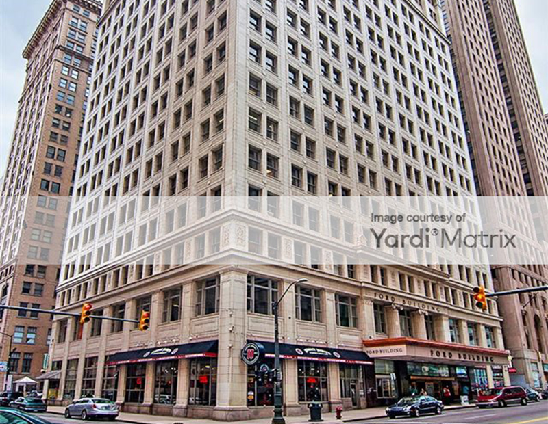 The Ford Building in Detroit