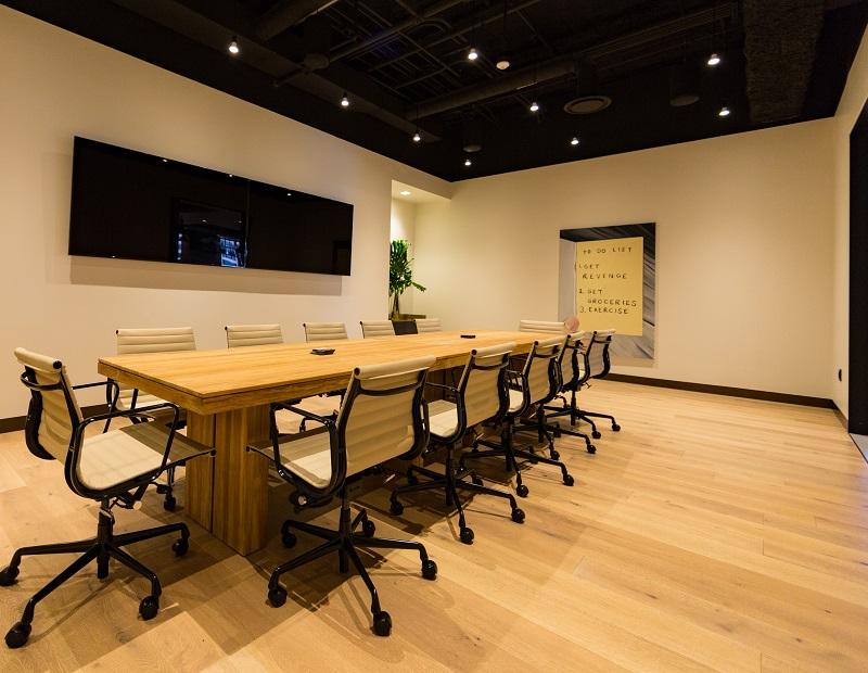 Modernized interior at Willis Tower