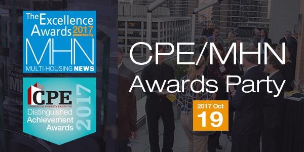 CPE-MHN awards party logo