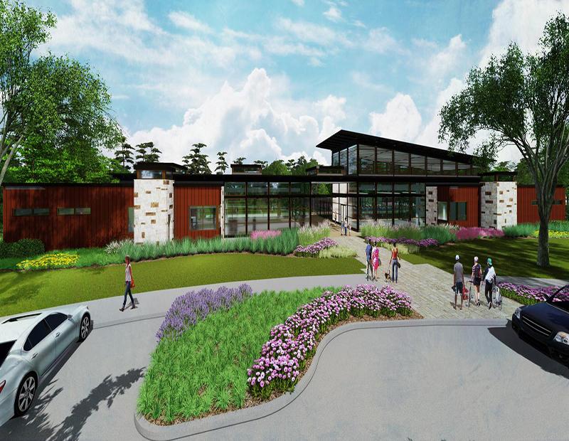Woodland Hills amenity center rendering
