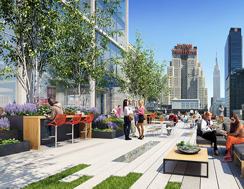 Hudson Commons at 441 Ninth Ave. in Manhattan