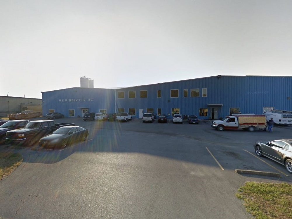 M&M Industries' facility at 316 Corporate Place in Chattanooga, Tenn.