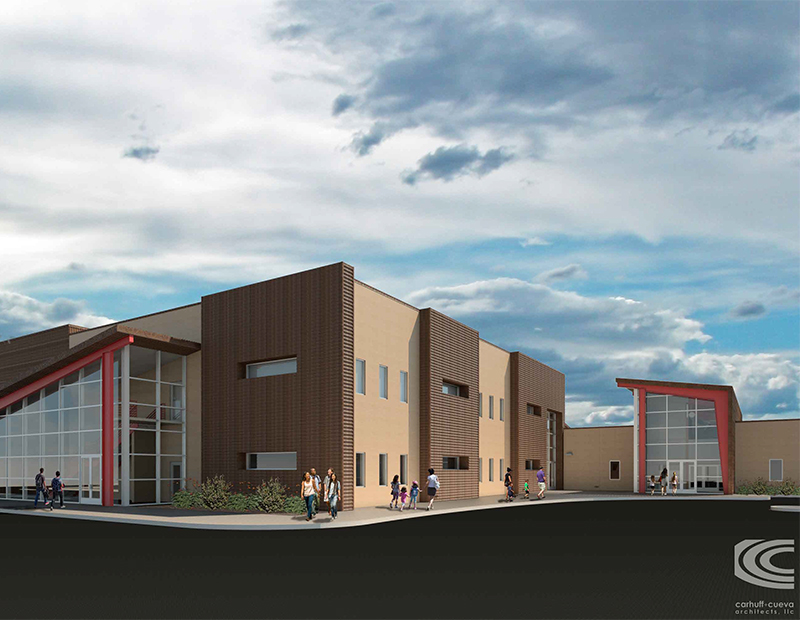 Rendering of the planned expansion at BASIS Flagstaff