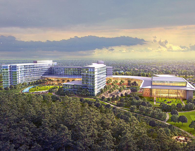KPMG is developing a $400 million, 55-acre learning, development and innovation campus at Lake Nona. Completion is scheduled for 2019.