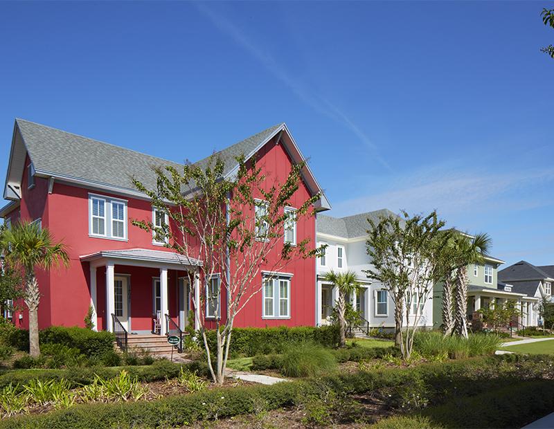 Homes in the Laureate Park neighborhood of Lake Nona in Orlando.