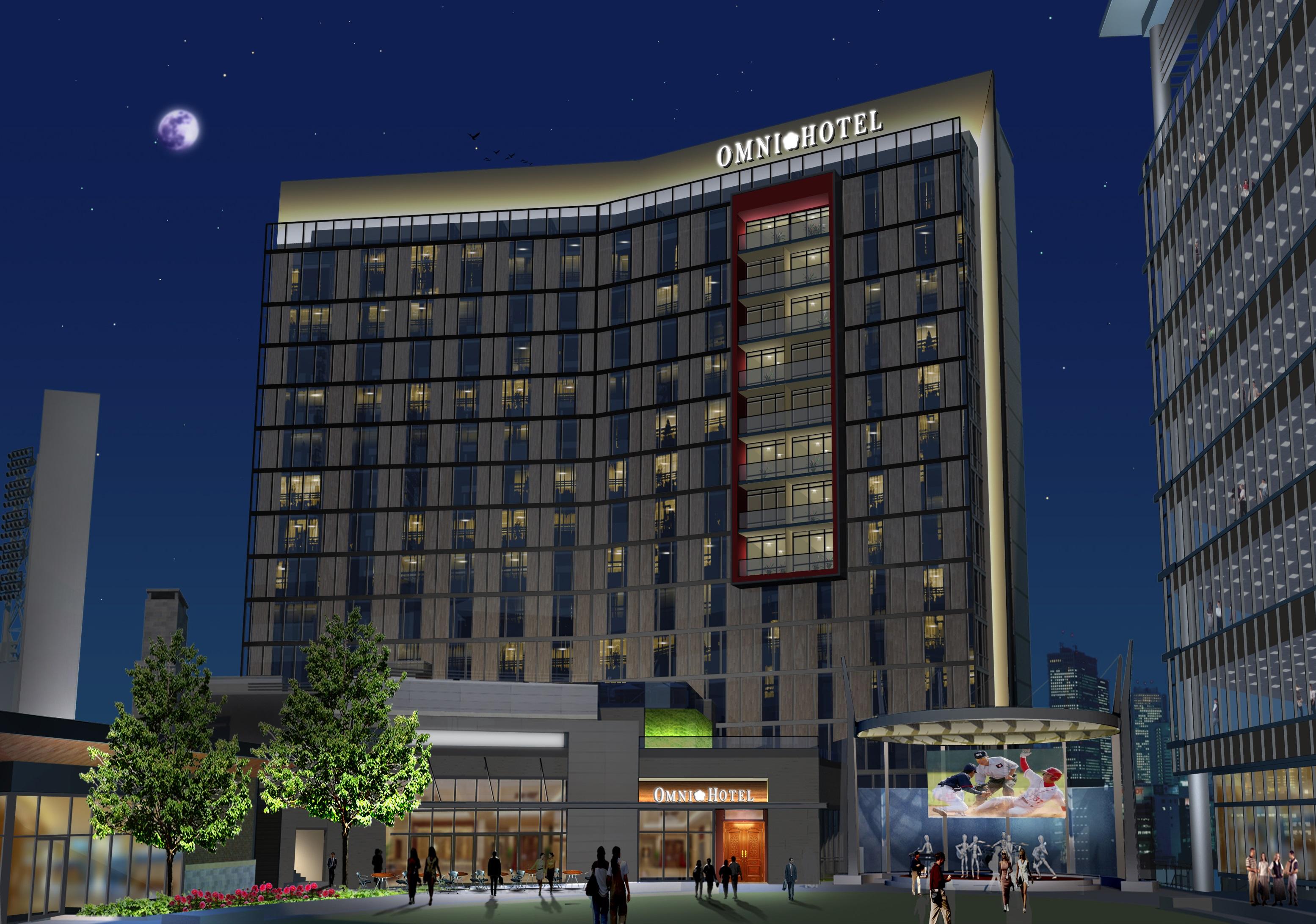 Rendering of Omni Hotel at The Battery Atlanta