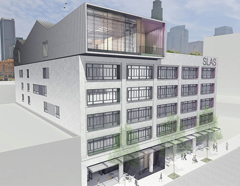 Redeveloped Norton Building at 755 Los Angeles St.