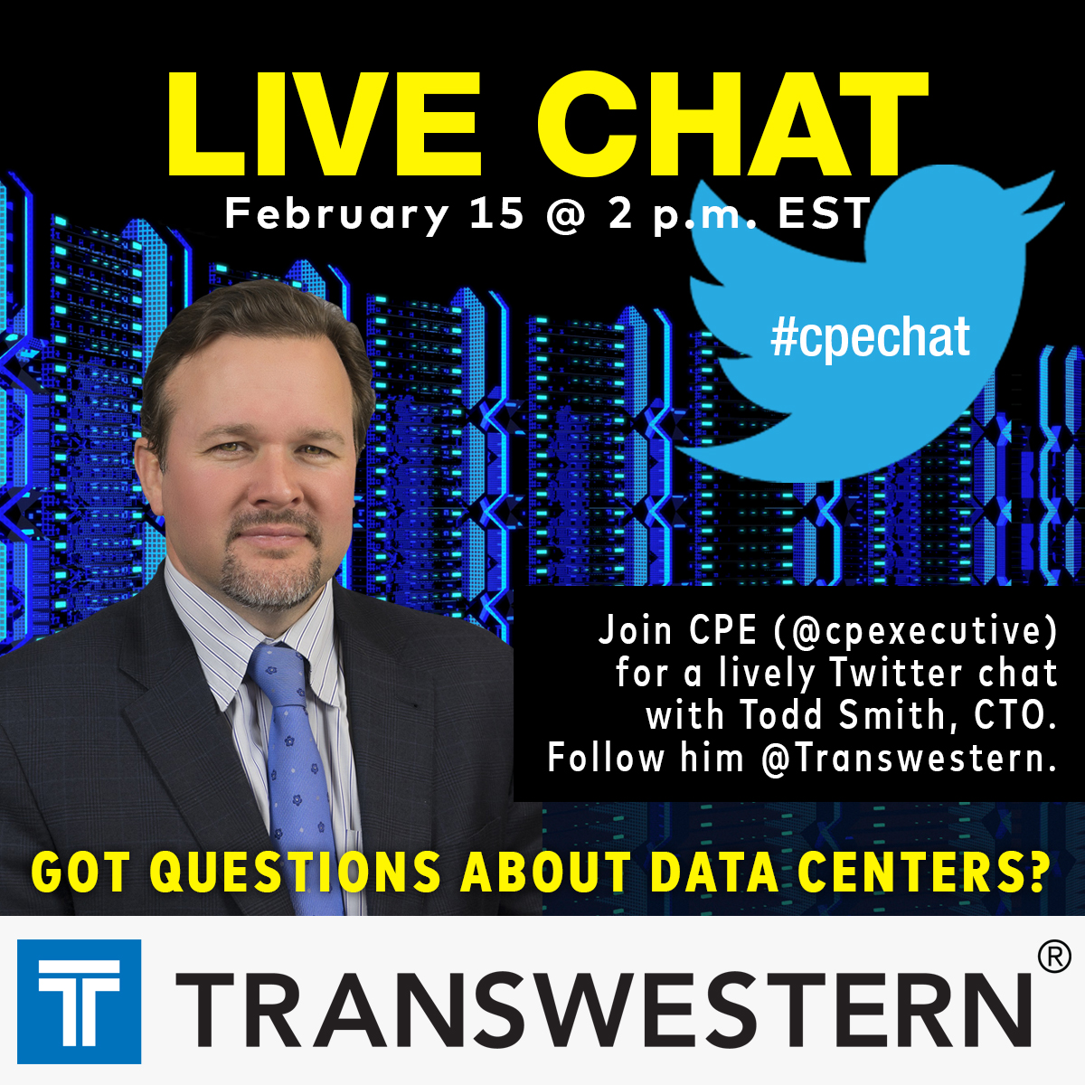 Twitter chat Transwestern SQUARE