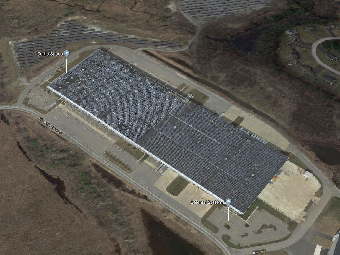 Aerial view of 1 Distribution Center Circle
