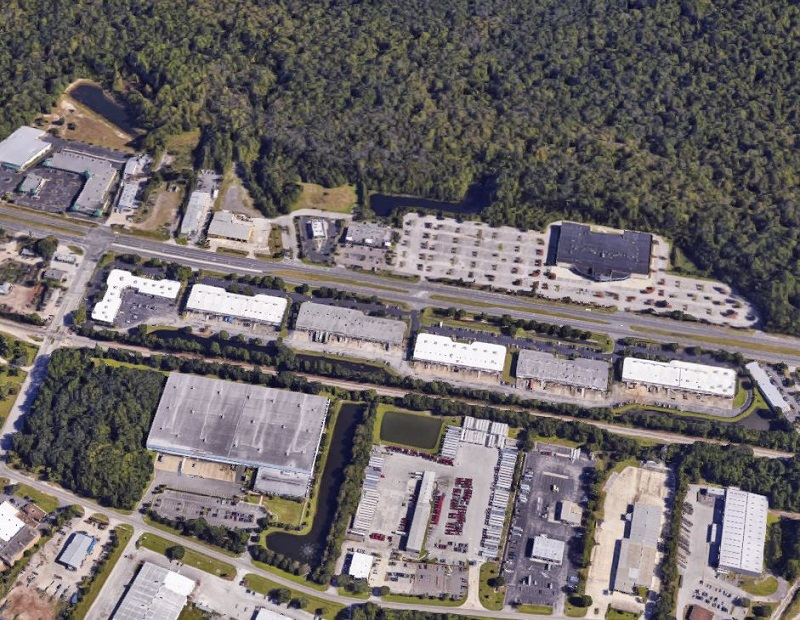 Aerial view of Interstate South Commerce Center