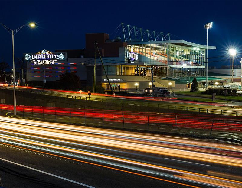 Empire City Casino in Yonkers, N.Y.,