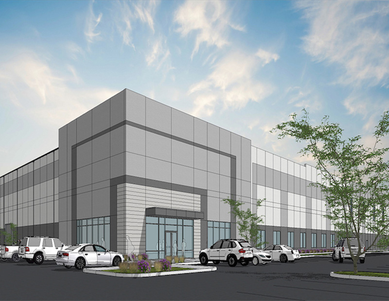 Rendering of Design Within Reach's BTS facility in Clermont County, Ohio