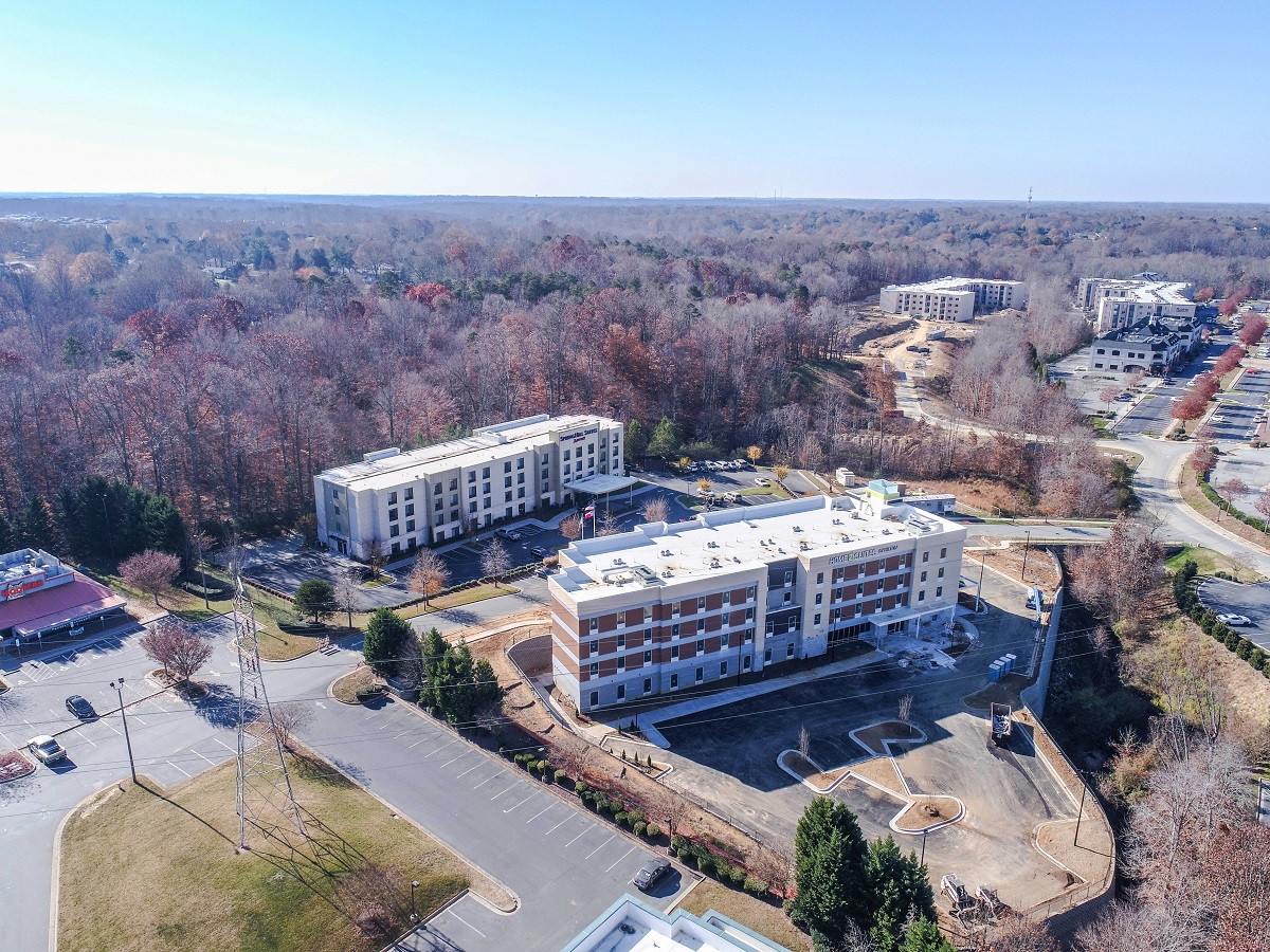 Home2 Suites by Hilton and SpringHill Suites by Marriott