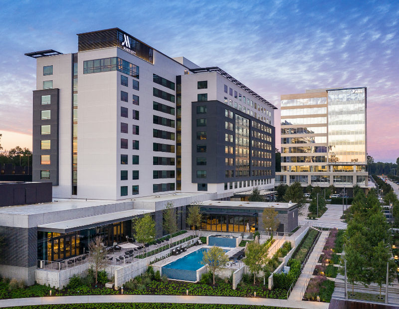 Houston CityPlace Marriott at Springwood Village and ABS headquarters