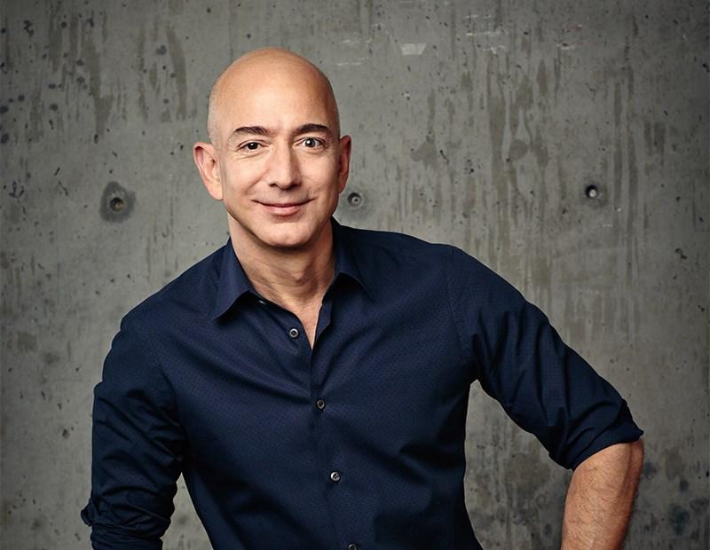 Jeff Bezos, founder & CEO of Amazon