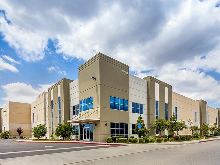 The 104,500-square-foot building at 19949 Kendall Dr. in San Bernardino, Calif.