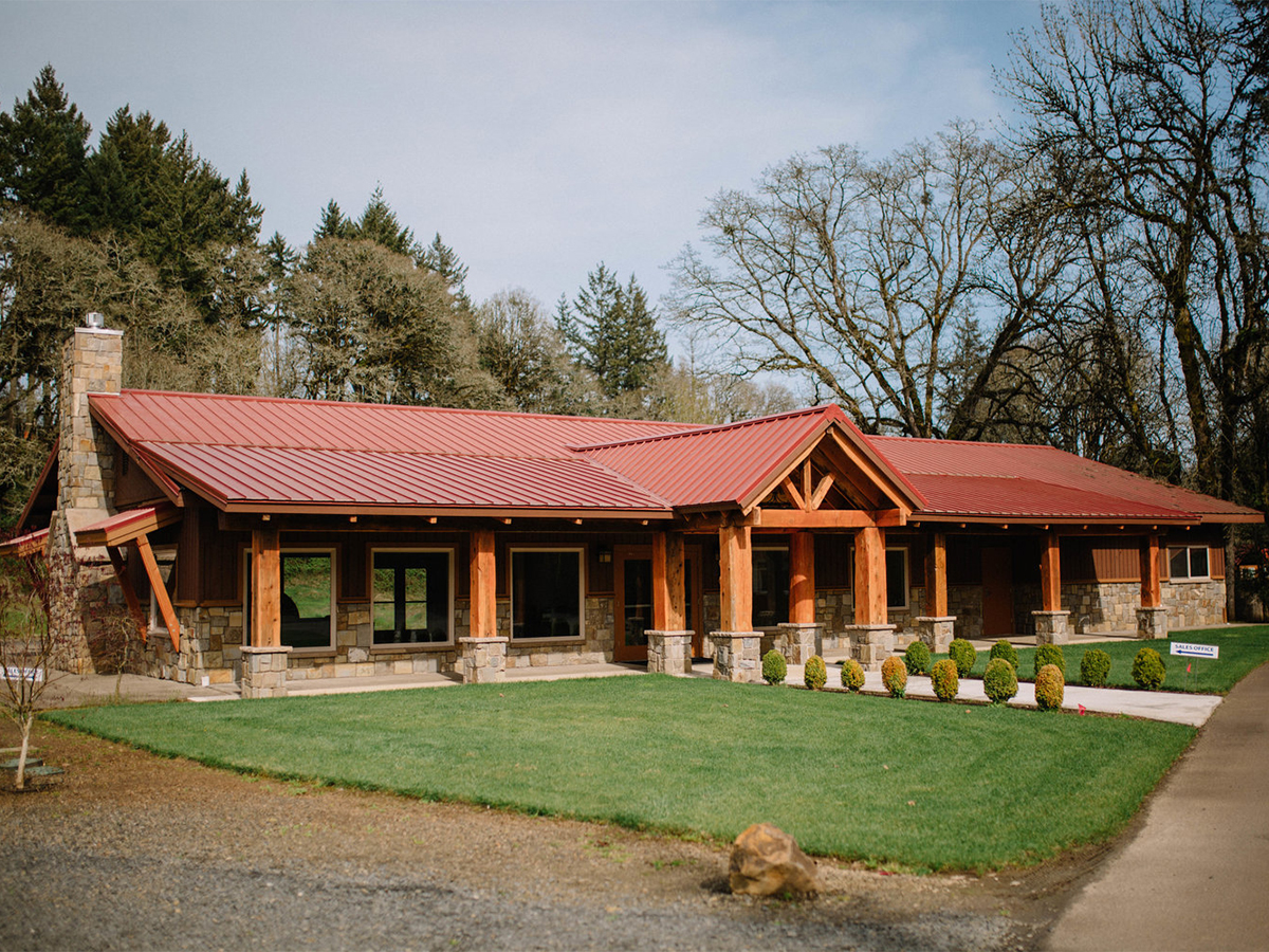 Clubhouse at Hope Valley Resort