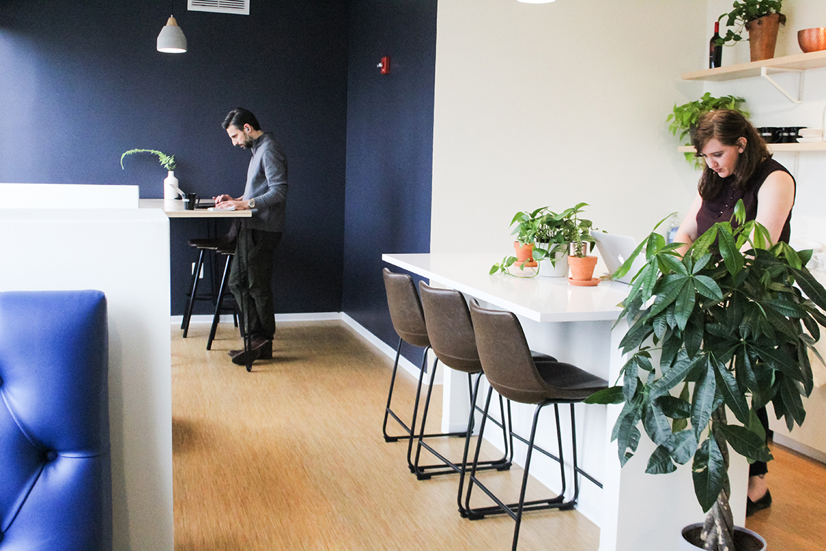 Features such as kitchens, food and beverage services, meeting and event space, fitness centers and in-building programming add a hospitality factor to what once served as a traditional office environment.